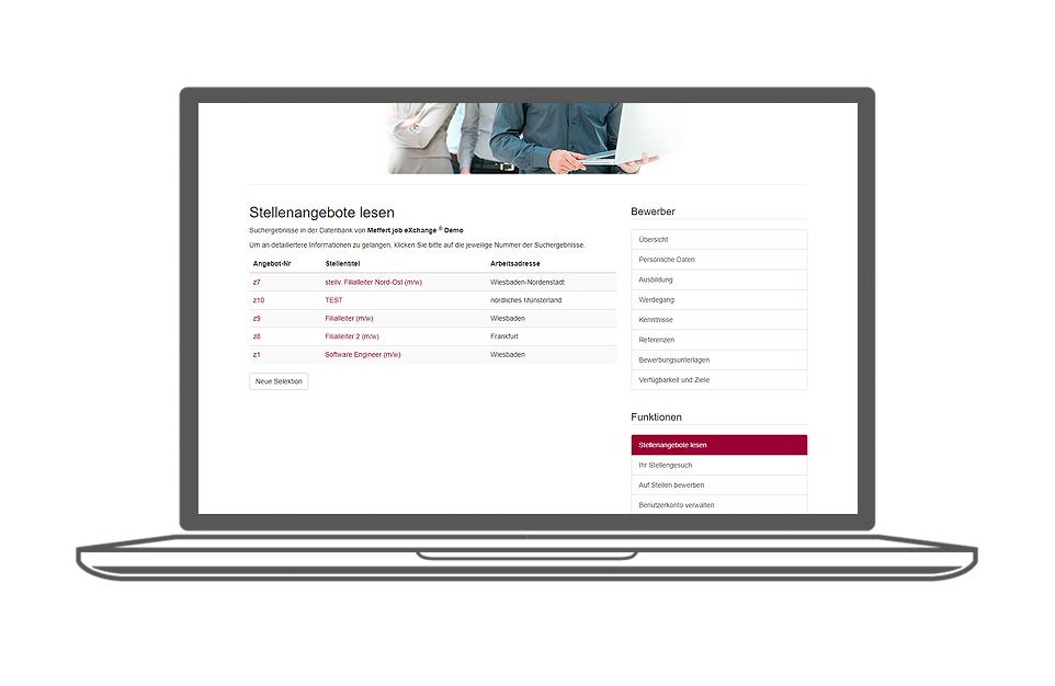 Recruiting Software - Meffert job eXchange®