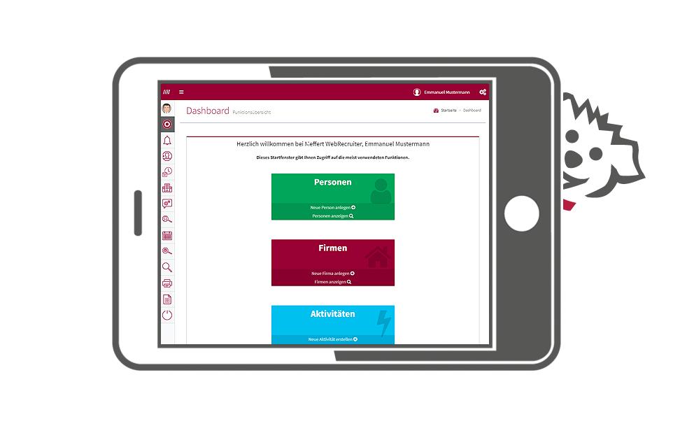Mobile-E-Recruiting Software