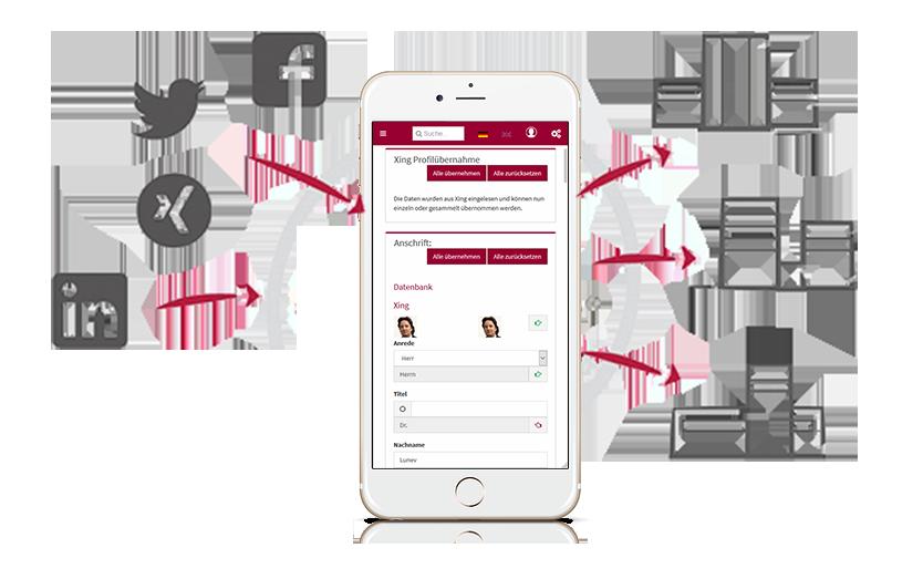 Social-Media-Recruiting I Mobile